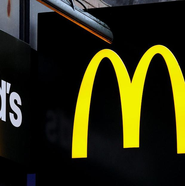 A New York father is suing a psychologist in a row over a planned McDonald's trip with his young son