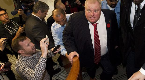 Toronto mayor Rob Ford has admitted smoking crack