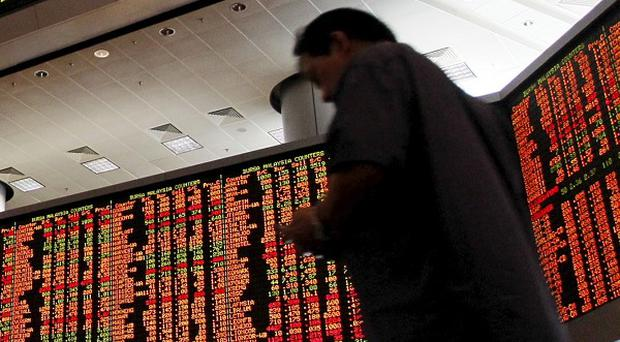 Asian stock markets rose after the Dow Jones industrial average hit another all-time high