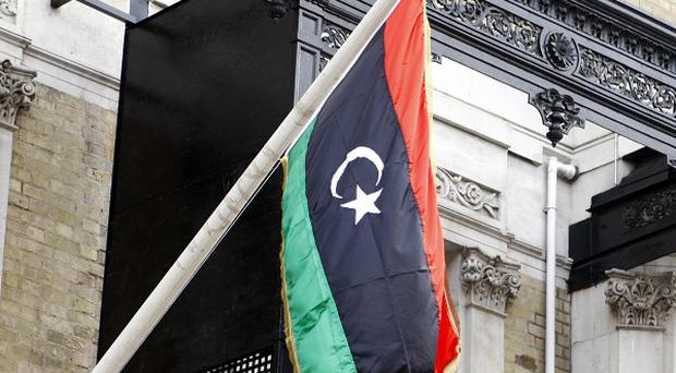 Peaceful protesters were killed in an attack by a militia in the Libyan capital Tripoli