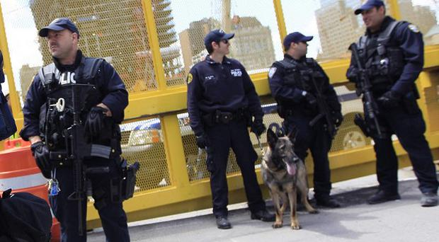 Port Authority Police in New York