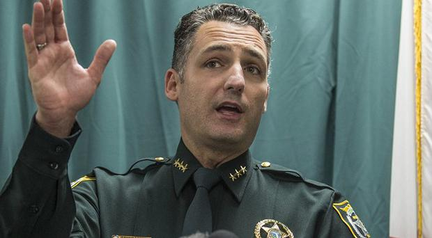 Seminole County Chief Deputy Dennis Lemma talks in Orlando, Florida, about the latest arrest of George Zimmerman.
