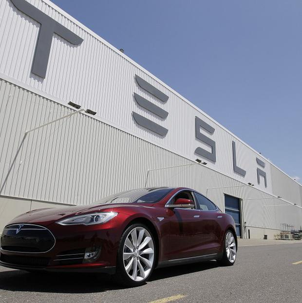 The US is investigating battery fires in the Tesla S car (AP)
