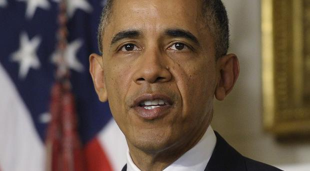 US president Barack Obama has hailed the nuclear deal struck in Geneva.(AP/Susan Walsh)