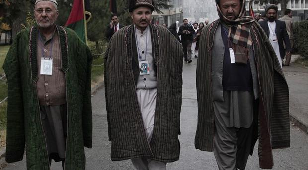 Delegates have been attending the Loya Jirga, or consultative council, in Kabul, Afghanistan (AP Photo/Rahmat Gul)