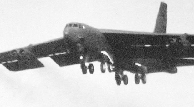 US B52s have flown over a Chines air defence zone.