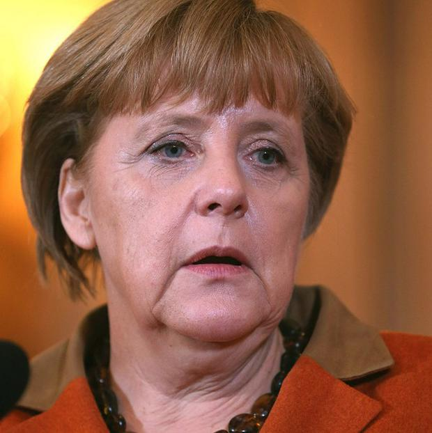 German Chancellor Angela Merkel has been injured during a skiing accident