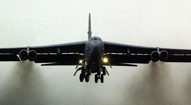 China has admitted allowing US B52 bombers to fly through its newly-declared airspace