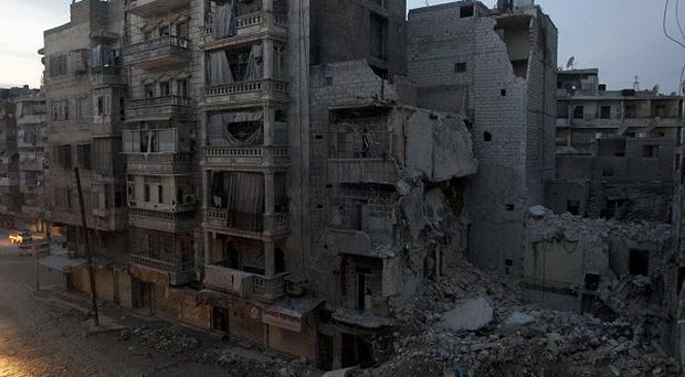 The city of Aleppo has already been extensively attacked.