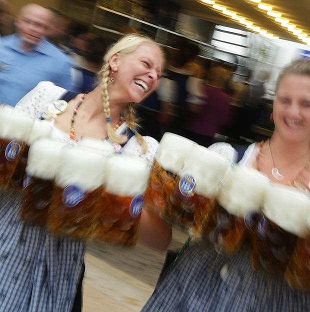 German brewers want their purity law to be given world heritage status (AP)