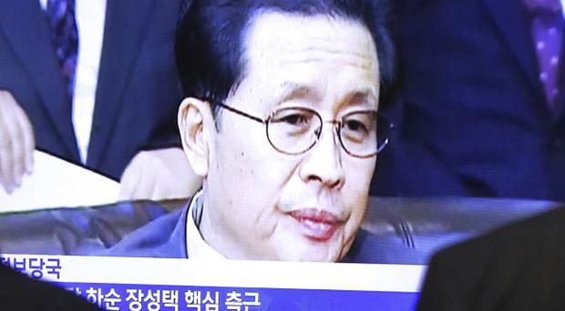 North Korean leader Kim Jong Un's vanished uncle, Jang Song Thaek - last seen on TV (AP)