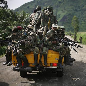 M23 launched its rebellion in eastern Congo in April 2012 (AP)