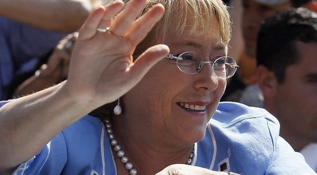 Michelle Bachelet has been elected Chilean president for the second time (AP)