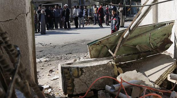 A series of bombings in Baghdad have left at least nine dead and 28 injured in Iraq (AP)