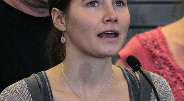 A third court hearing is being held on whether Amanda Knox murdered British student Meredith Kercher (AP)