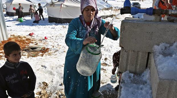 Millions of Syrians have been forced from their homes during the conflict (AP)