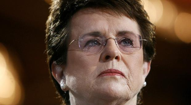 Tennis great Billie Jean King is on the US delegation at the Sochi Winter Olympics.(AP)