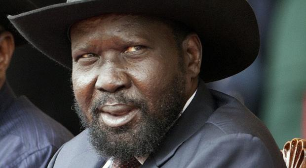 South Sudan's president Salva Kiir says he has foiled a coup attempt (AP)
