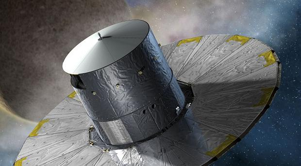An artist's impression of the Gaia satellite