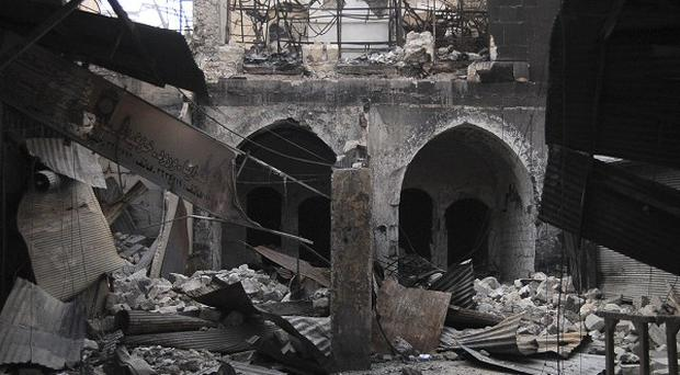 Syrian rebels have gained control of a strategic hospital in the shattered city of Aleppo.