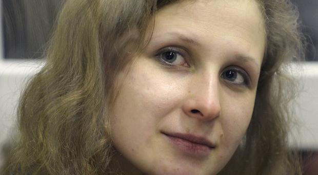 Pussy Riot band member Maria Alekhina has been freed from jail in Russia. (AP)
