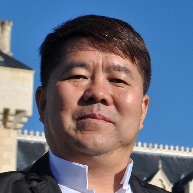 Chinese businessman Lam Kok died in a helicopter crash as he toured his new French vineyard (AP)