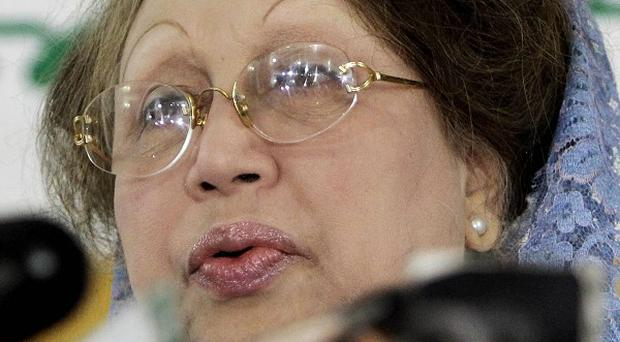 Bangladesh's former Prime Minister and main opposition Bangladesh Nationalist Party (BNP) leader Khaleda Zia, who is demanding an independent caretaker government oversee the general elections set for January 5, 2014, is due to address a rally in Dhaka, Bangladesh, later today.