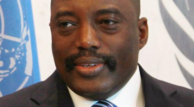 President Joseph Kabila came to power in 2001, after the assassination of his father, warlord Laurent Kabila (AP)