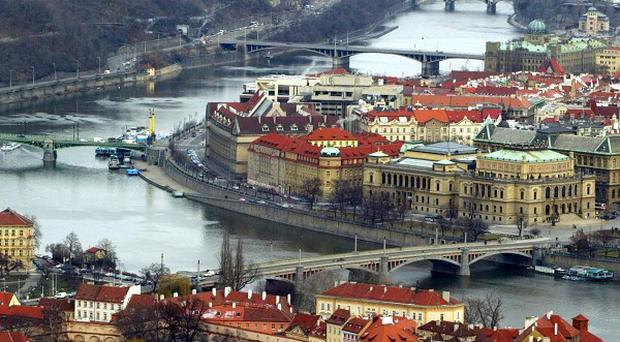 The Palestinian ambassador in Prague has been seriously injured in a blast at his apartment.