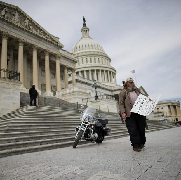 Americans have little faith in the government, a poll has found. (AP)