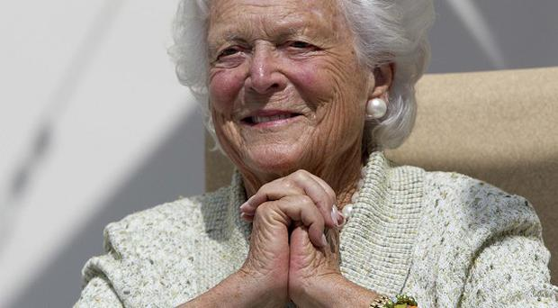Former first lady Barbara Bush has been discharged from hospital (AP)