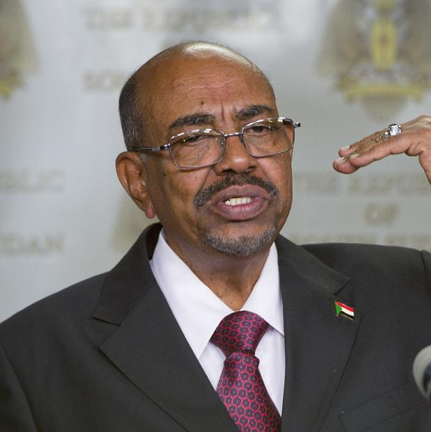 Sudan's president Omar al-Bashir has said negotiations are the only way forward for former enemy South Sudan (AP)