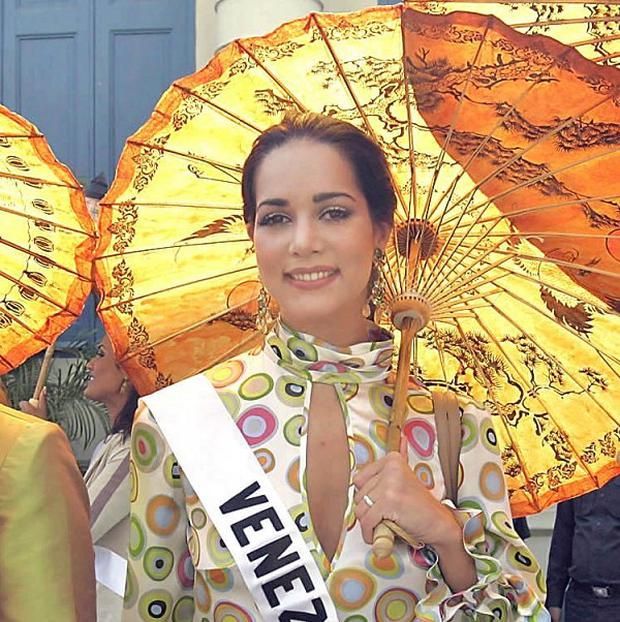 Former Miss Venezuela Monica Spear who has been murdered in a robbery (AP)