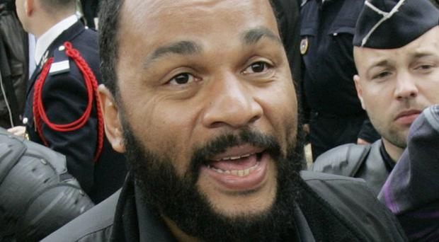 A show in Nantes by controversial French comic Dieudonne M'Bala M'Bala was cancelled.