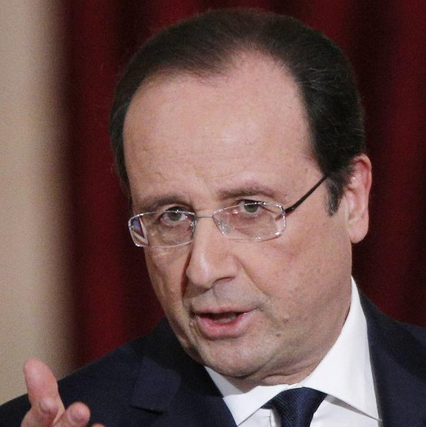 French president Francois Hollande's alleged mistress has been denied a key job (AP)