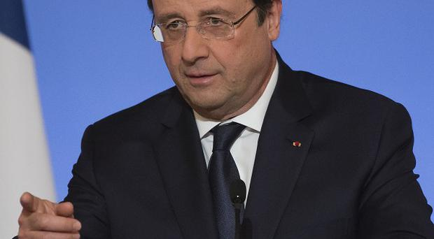 President Francois Hollande has expressed indignation over the report he is having an affair