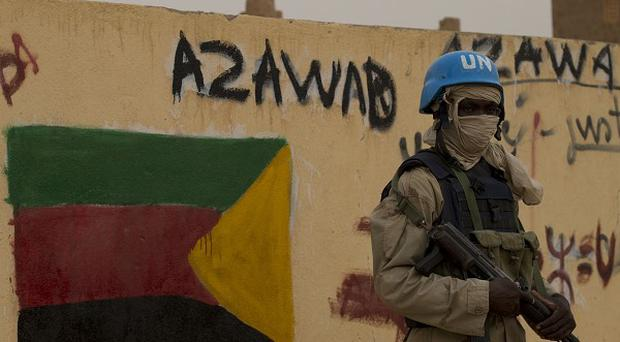 A spokesman for the United Nations peacekeeping mission in Mali the five were on patrol about 20 miles north of the city of Kidal when the incident occurred