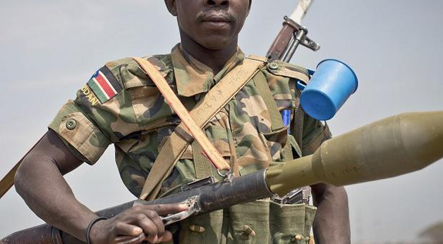 Thousands have died in fighting which erupted in South Sudan in December (AP)