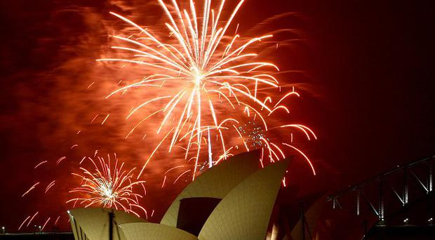 Fireworks often mark Australia Day, which remembers British settlement in Sydney in 1788