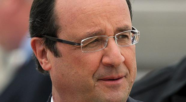 Francois Hollande is meeting the Pope amid rumours about his private life