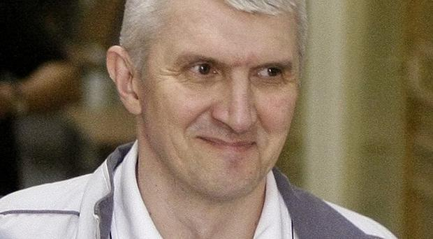 Platon Lebedev has been freed from jail after more than 10 years (AP)