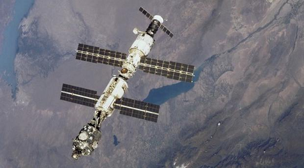Astronauts are making a second attempt to install cameras on the International Space Station
