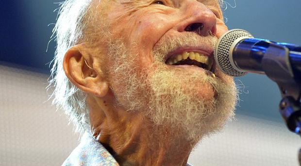 Pete Seeger has died at the age of 94. (AP)