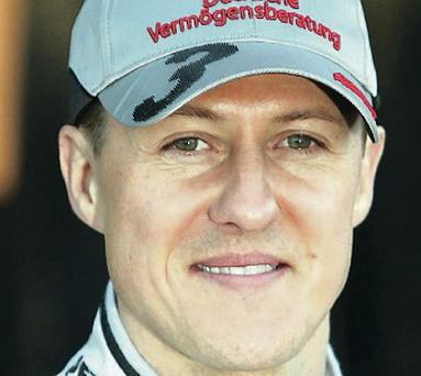 Michael Schumacher: positive reaction