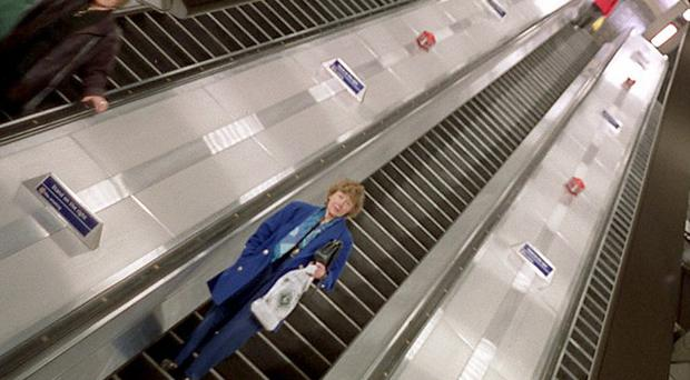 A woman was strangled after being trapped by her scarf and hair in an escalator in Montreal