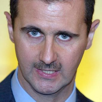 Rebels have been fighting to overthrow Syrian president Bashar Assad