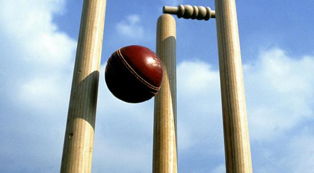 Saintfield and Laurelvale are separated by only around 11 thousandths of a wicket
