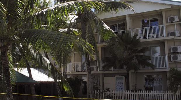 Jose Salvador Alvarenga has been staying at the Marshall Islands Resorts hotel in Majuro (AP)