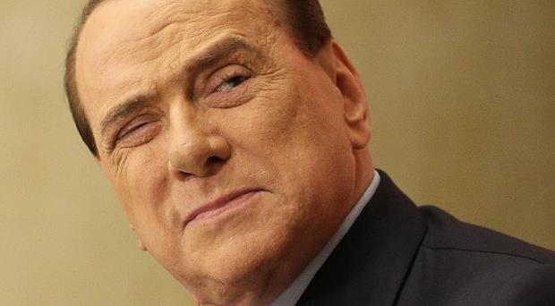 Former Italian premier Silvio Berlusconi is on trial in Naples accused of political corruption