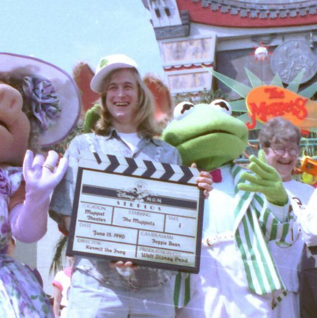 Puppeteer John Henson, the son of the late Muppets creator Jim Henson